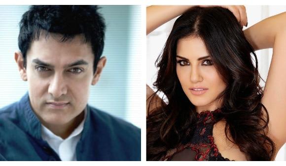 OMG!! Aamir Khan made Sunny Leone happy