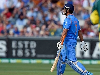 what happens to dhoni?