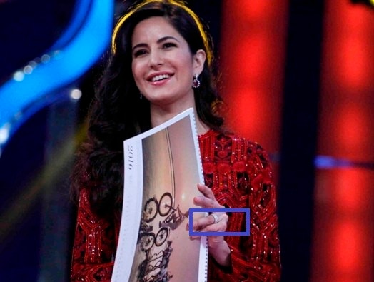 Katrina Spotted Wearing a Ring on her Engagement Finger