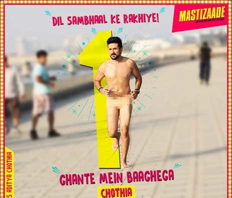 Video: Vir Das goes Naked in this new Mastizaade promo!