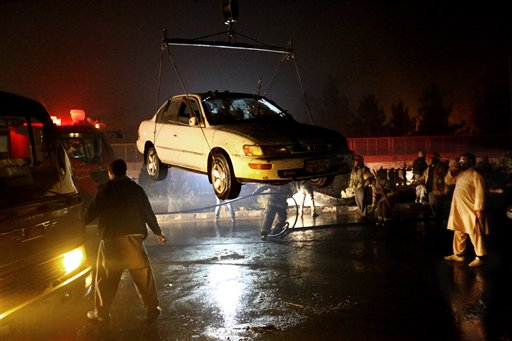 suicide bomb attack near russian embassy in kabul, 7 killed
