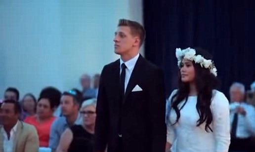Awesome New Zealand Maori Haka at a wedding reception