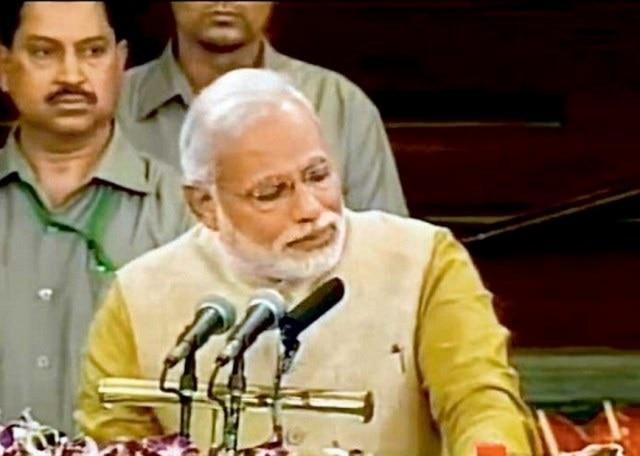 PM Modi cried again