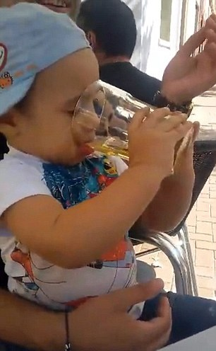 World's youngest alcoholic