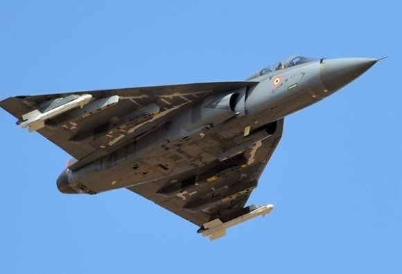 India's Own Tejas Fighter At Bahrain Air Show