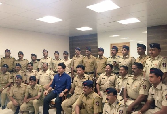 Sachin Tendulkar: Police are always there for us, we take it for granted