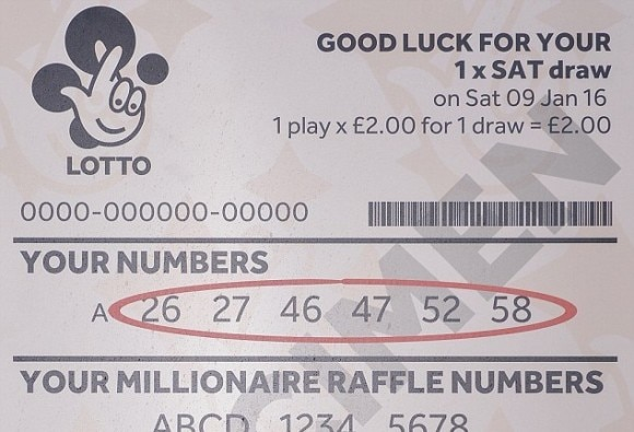 £33m ticket 'washed in jeans', says potential jackpot winner in Worcester