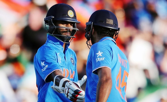 Hope Rohit and I can emulate Tendulkar-Ganguly's success: Dhawan