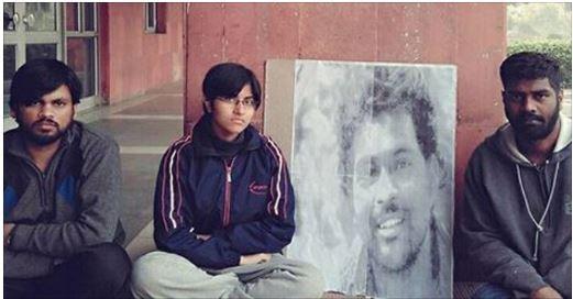 JNU Students on hunger strike