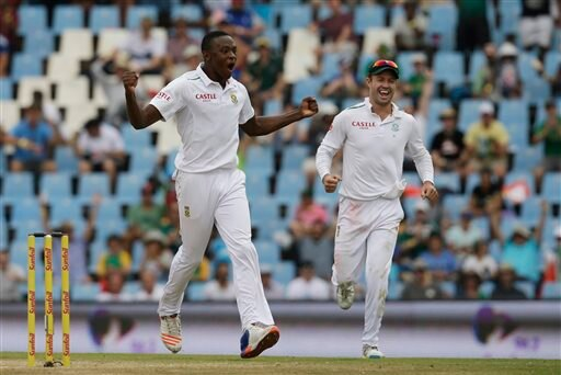 Rabada rocks England with seven wickets