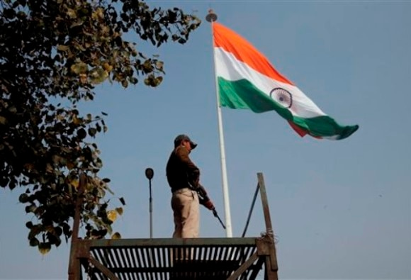 Heavy Security in Delhi on 67th Republic Day