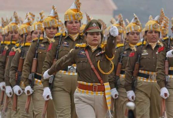 R-Day parade at Rajpath