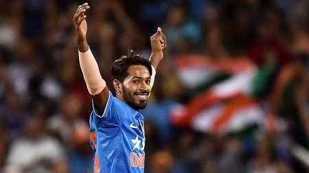 most expensive first over bowled by hardik