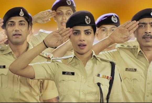 Priyanka chopra National Anthem- Tribute To Women In Police Force