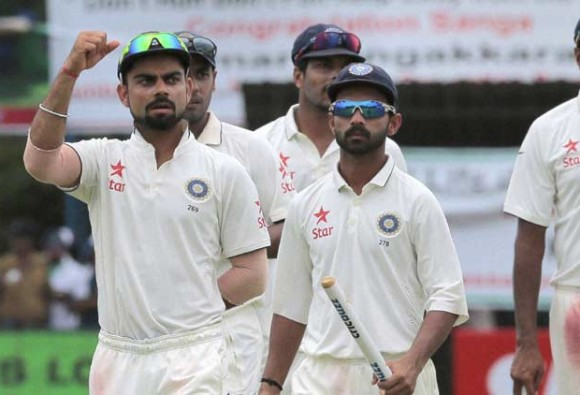 India return to top of Test rankings