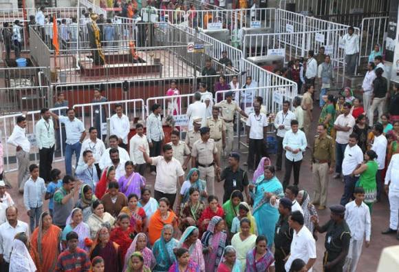 Maharashtra: Shani temple march foiled, detained women