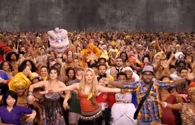 shakira's waka waka croses 1 billion on youtube