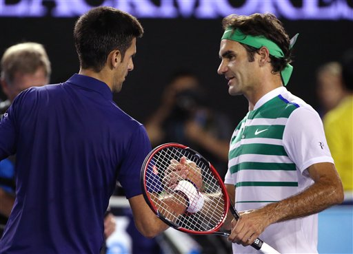 Djokovic sees off Federer fight-back to reach final