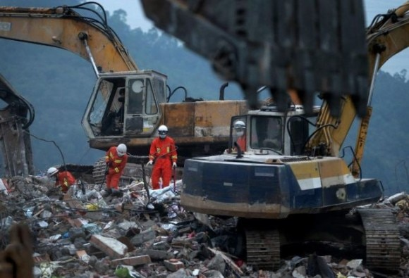 73 bodies now recovered from site of China landslide