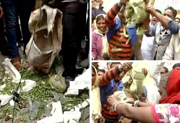 Trash crisis: MCD workers protest, dump garbage outside Gopal Rai's office