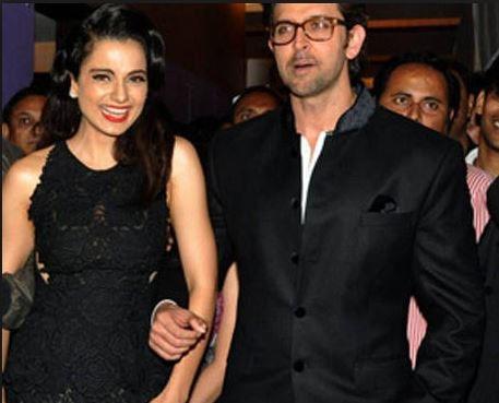 Kangana Ranaut and Hrithik Roshan relationship