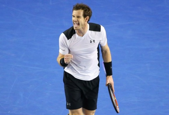 andy murray advance to the aus open final