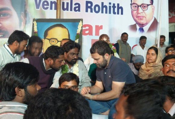 Rahul Gandhi in Hydrabad