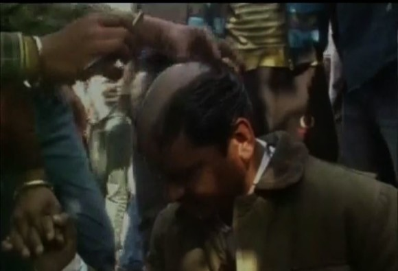 BajrangDal members allegedly misbehaved with a man