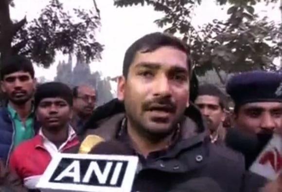 Congress MLA surrender in alleged abduction case