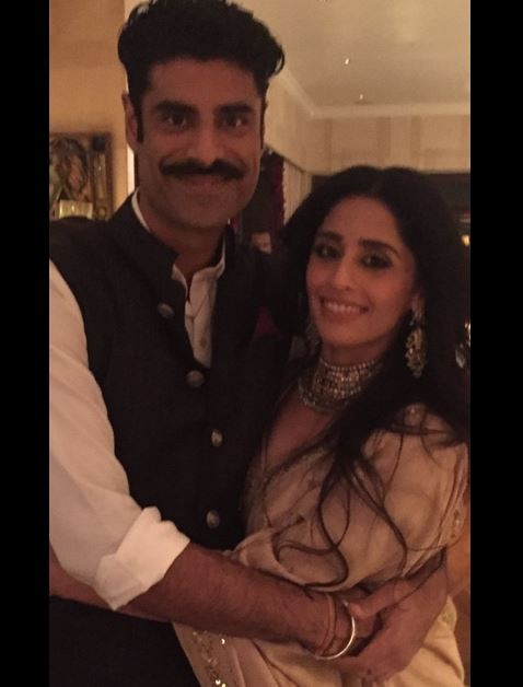 Anupam Kher's son Sikandar got engaged