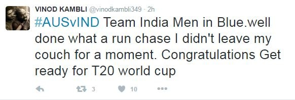 TWITTER REACTS AS INDIA WHITEWASH AUSTRALIA 3-0