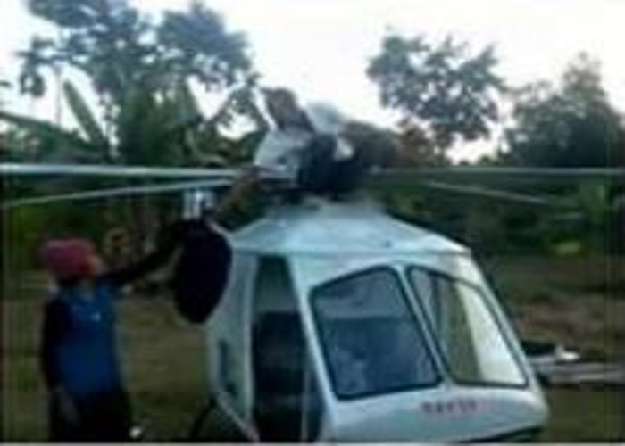 Primary School Drop Out Welder Builds His Own Helicopter in Assam