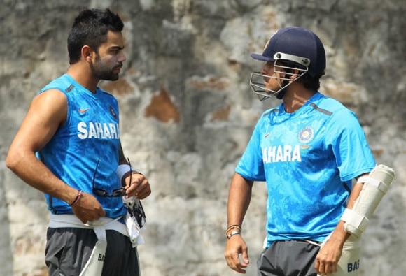 Sachin Tendulkar's advice helped me develop as a better batsman says virat kohli