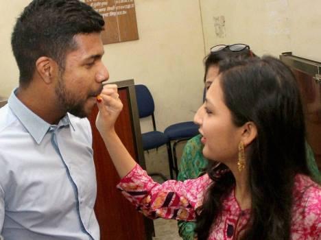 varun aaron gets married