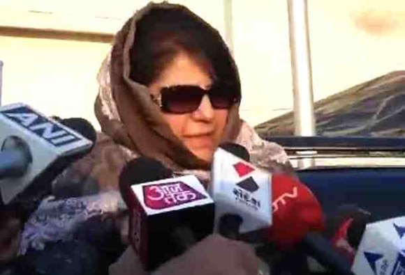 Mehbooba Mufti Speaks keeps up suspense on Jammu and Kashmir