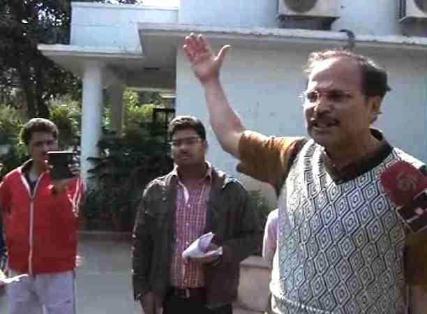 Cong MP Adhir Ranjan's furniture thrown out of bungalow