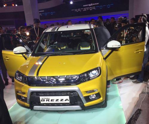 Auto Expo 2016: Maruti Vitara Brezza unveiled