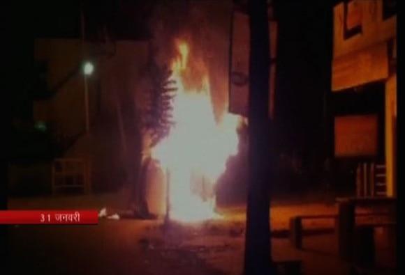Mob strips Tanzanian student in Bangalore
