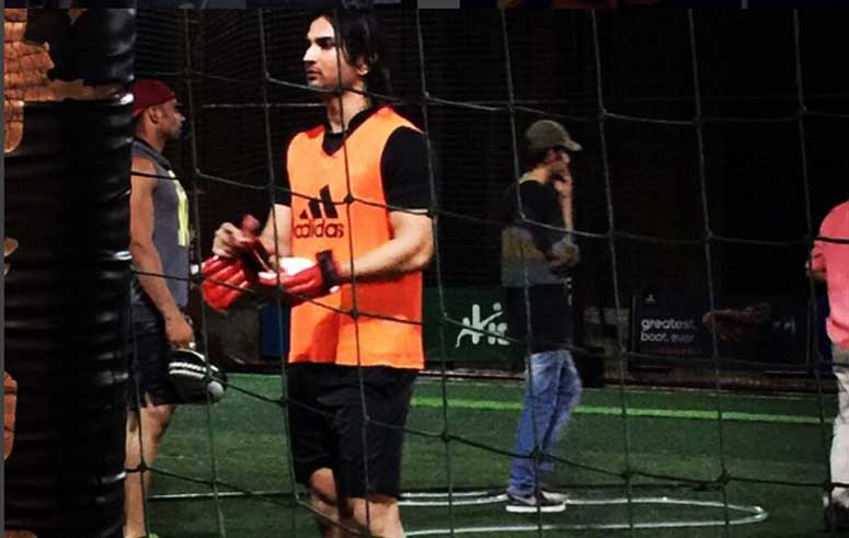 Sushant Singh Rajput shoots for the marriage sequence in M S Dhoni – The Untold Story