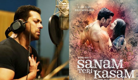 SHOCKING! Salman Khan accuses 'Sanam Teri Kasam' makers of STEALING his song from 'Tere Naam'!
