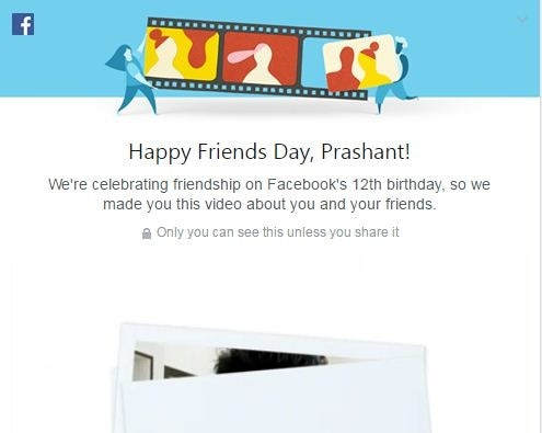Facebook Celebrates 12th Anniversary as Friends Day