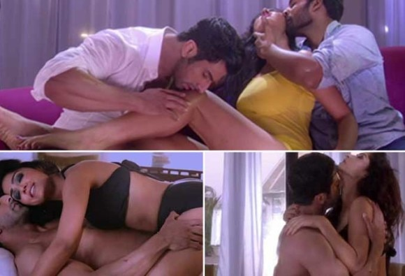 """Watch: Bollywood's First """"Threesome"""" sizzles with bold sex scenes"""