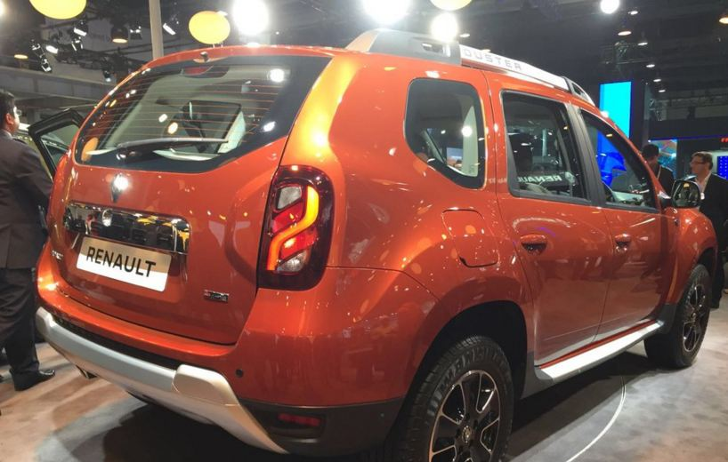 Auto Expo 2016: New Renault Duster AMT Revealed