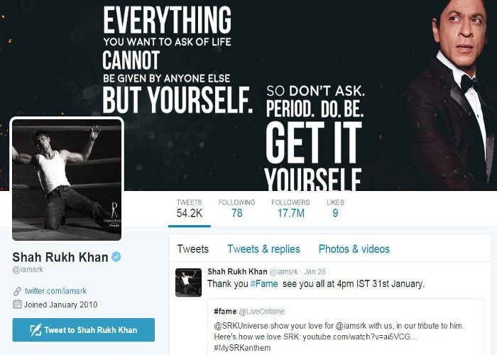 not shah rukh but selena to quit twitter in coming time