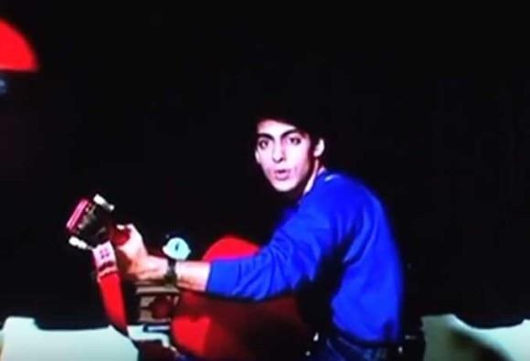 Salman Khan's First Screen Test From Maine Pyaar Kiya