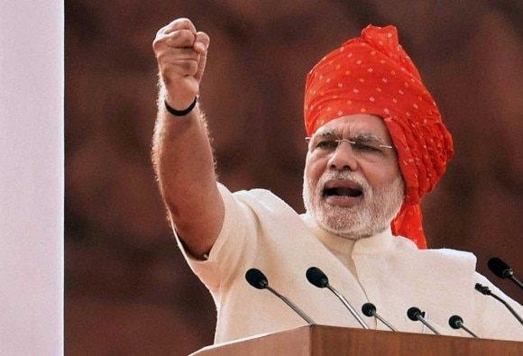 India only economy not affected by global economic crisis: PM Modi
