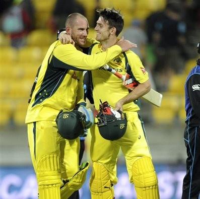 Australia beat new Zealand in 2nd odi