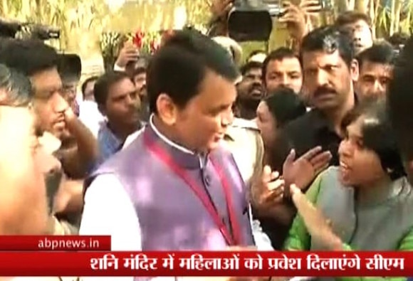 Shani Shingnapur Controversy