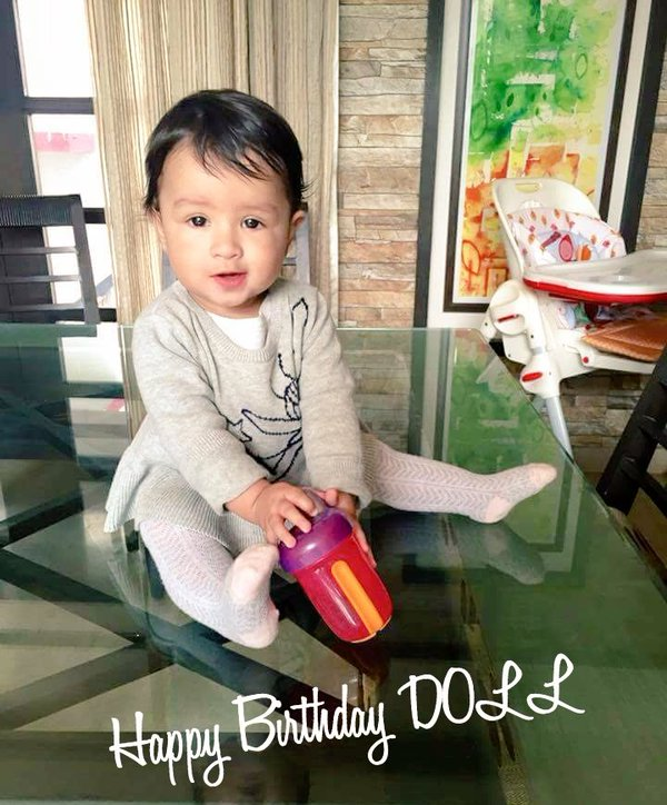 MS Dhoni and Sakshi Dhoni's daughter Ziva's Birthday