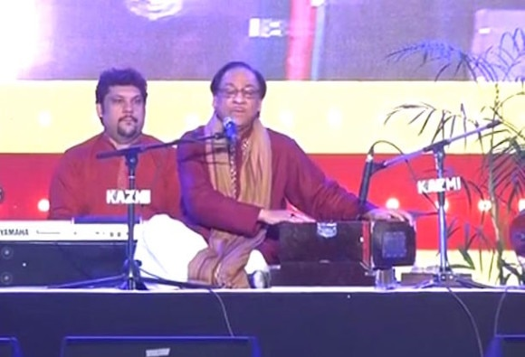 ghulam ali performs in lucknow